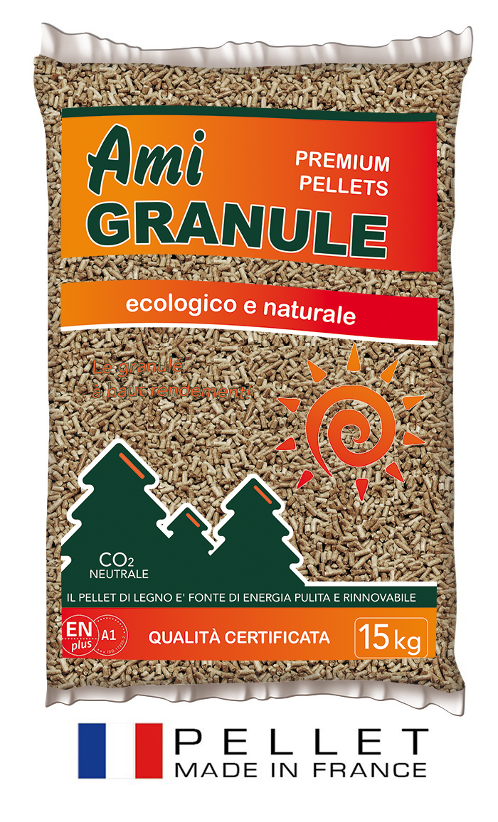 pellet francese ami granule sacco kg 15